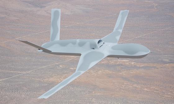 Predator Drone: General Atomics, San Diego, CA
